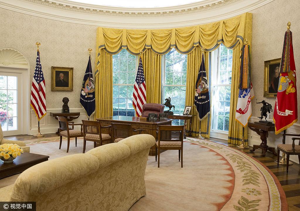 白宫大修后内部照曝光