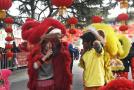 """""""洋狮子""""的中国春节"""