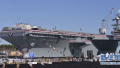日本防卫省:美军航母舰载机在日转移工作完成