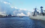 中国海军深潜救援潜艇首次水下实艇对接外国潜艇