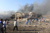 索马里首都遭遇最严重爆炸袭击 至少40人死亡