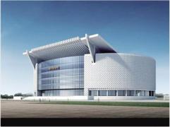 鄭州博物館新館主樓開始主體施工