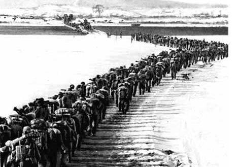67年前志愿军奔赴朝鲜