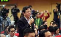 十九大记者招待会 路透社记者向张勇提问