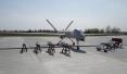 """中国""""彩虹4""""改进型无人机完成极端环境打靶试飞"""