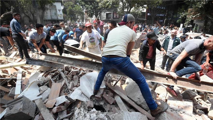 墨西哥东南部再次发生6级地震