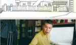 65岁老青岛人凭幼时记忆 历时4个月手绘百年黄台路