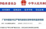 """""""严书记""""刚被查北京""""王主任""""就来了:儿媳举报其有17处房产"""