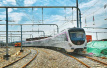 """首次""""触电"""" 济南R1线列车首次在试车线上通电试跑成功"""