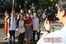 北京考生进考场前