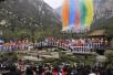 第十二屆中國鄭州國際少林武術節開幕 中外高手論武嵩山