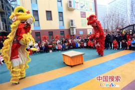 """传承非遗文化!郑州一幼儿园""""民俗庙会""""庆元宵"""