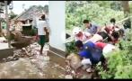 印尼地震引发山崩致3人遇难 有中国游客被困景区