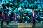 河北梆子《李保国》在安平县演出