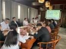 合生创展集团到开封市鼓楼区洽谈对接项目