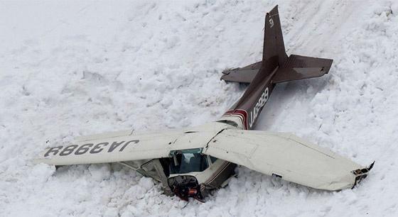 一架小型飞机在日本中部地区坠毁 机上4人遇难