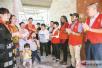 徐州丰县无偿献血服务队志愿者慰问残疾励志青年