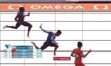 男子4×100米夺冠