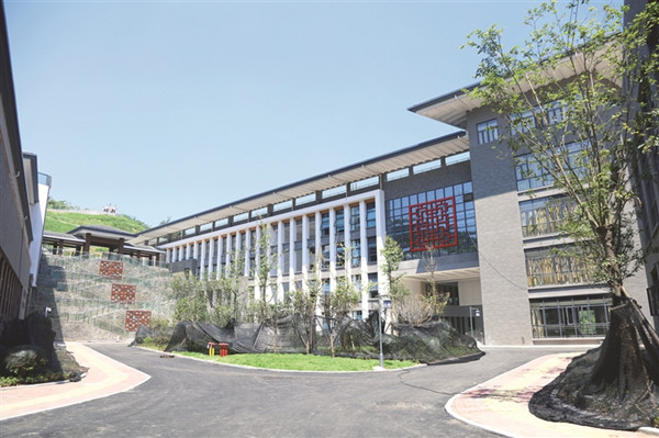 老年大学基本完工 预计9月对外开放