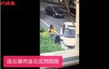 惨案!连云港一男子大街上驾车故意轧倒一女子后 从8楼跳下