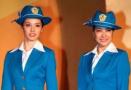 不同年代的中国空姐