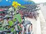 郑州共享单车过剩 网友:ofo车辆损坏较多