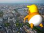 特朗普下周访英 伦敦将用6米巨型抗议气球迎接他
