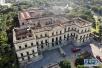 实拍烧成废墟的巴西国家博物馆:大火让人类历史变的残缺