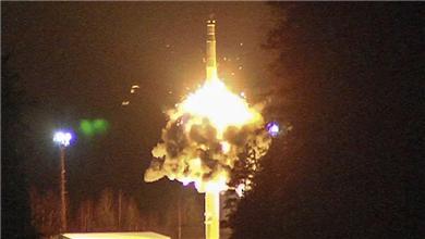 俄罗斯举行战略核力量演习