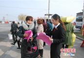 """河南睢县法院开展 """"三八妇女节""""法律宣传活动"""