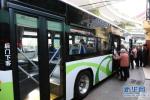 沧州市区空调公交车开启冷风系统