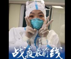 武汉ICU护士长50天没回家 父亲把思念作成画